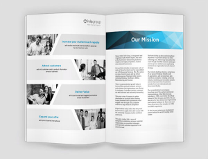 Coporate brochure design and printing